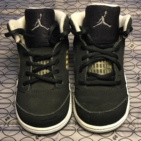 Nike Air Jordan 5's Oreo's Sz 6 Infant Boys